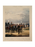 The Russian General Staff, 1867 Giclee Print by Karl Karlovich Piratsky