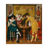 Merry Company Giclee Print by Willem Pietersz Buytewech