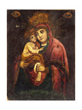 The Mother of God Our Lady of Pochayiv Giclee Print