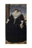 Portrait of Marie De Médici (1575-164) Giclee Print by Frans Francken the Younger
