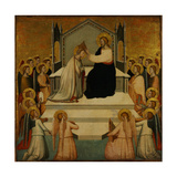 The Coronation of the Virgin Giclee Print by Maso Di Banco