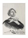 Portrait of Kozma Prutkov Giclee Print by Lev Felixovich Lagorio