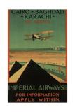 Imperial Airways, 1926 Giclée-tryk af Charles C. Dickson