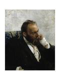 Portrait of Professor Ivanov Giclee Print by Ilya Yefimovich Repin