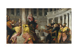 Christ Among the Doctors Giclee Print by Paolo Veronese