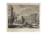 Peter the Great Founding Saint Petersburg Giclee Print by Pietro Antonio Novelli