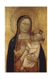 The Virgin and Child Giclée-tryk af Bernardo Daddi