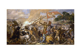 The Battle of Grunwald Giclee Print by Jan Alojzy Matejko