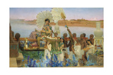 The Finding of Moses Giclee Print by Lawrence Alma-Tadema
