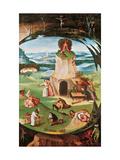 The Seven Deadly Sins Gicléetryck av Hieronymus Bosch