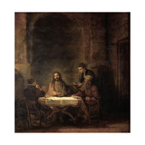 The Supper at Emmaus Giclee Print by  Rembrandt van Rijn