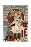 Advertising Poster for the Tissue Paper Abadie, 1898 Giclee Print by Henri Gray