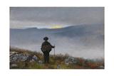 Theodor Kittelsen - Soria Moria Castle - Giclee Baskı