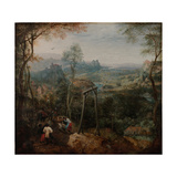 The Magpie on the Gallows Giclee Print by Pieter Bruegel the Elder
