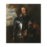 Portrait of Count Hendrik Van Den Bergh (1573-163) Giclee Print by Sir Anthony Van Dyck