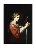 Saint Catherine Wydruk giclee autor Bartolomeo Bassante