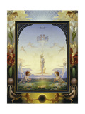 The Small Morning Giclee Print by Philipp Otto Runge