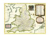 Britannia Atlas, 1675 Giclee Print by John Ogilby