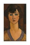 Portrait of Élisabeth Fuss-Amoré Reproduction procédé giclée par Amedeo Modigliani
