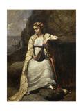 Haydée Giclee Print by Jean-Baptiste Camille Corot