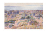 The Beach of Vignasse Giclee Print by Henri Edmond Cross