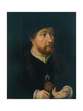 Henry III of Nassau-Breda Giclee Print by Jan Gossaert