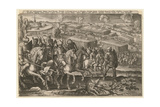 The Siege of Vienna by Turkish Army, 1529 Giclee Print by Adriaen Collaert