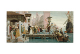 Departure of the Prodigal Son Giclee Print by James Jacques Joseph Tissot