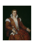 Livia Colonna Giclee Print by Paolo Veronese
