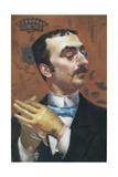 Portrait of Henri De Toulouse-Lautrec Giclee Print by Giovanni Boldini