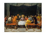 The Last Supper Giclee Print by Frans Francken the Younger