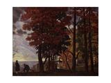 Autumn, 1918 Giclee Print by Boris Michaylovich Kustodiev