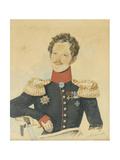 Portrait of Yegor Fyodorovich Meiendorf (1794-187) Giclee Print