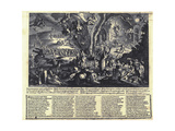 The Witches' Sabbat Giclee Print by Matthäus Merian the Elder