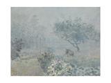 Fog, Voisins, 1874 Giclee Print by Alfred Sisley