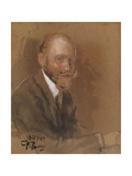 Portrait of the Playwright Prince Vladimir Vladimirovich Bariatinsky (1874-194) Giclee Print by Ilya Yefimovich Repin
