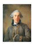 Pierre-Ambroise-François Choderlos De Laclos (1741-180) Giclee Print by Jean-Baptiste Perronneau