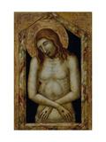 Christ as the Suffering Redeemer Giclée-tryk af Pietro Lorenzetti