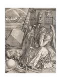 Melencolia I Reproduction procédé giclée par Albrecht Dürer