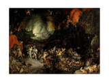 Aeneas in the Underworld Giclee Print by Jan Brueghel the Elder