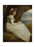 Emma, Lady Hamilton Giclee Print by George Romney
