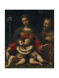 The Holy Family with John the Baptist Giclee Print by Bernardino Luini