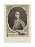 Portrait of the Singer Farinelli (Carlo Brosch) (1705-178), 1735 Giclee Print by Jacopo Amigoni
