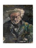 Portrait of Georg Brandes (1842-192) Gicléetryck av Lovis Corinth
