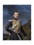 Portrait of Ivan Alexandrovich Balashov (1816-184) Giclee Print by Pimen Nikitich Orlov