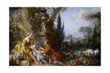 Les Charmes De La Vie Champêtre (Delights of Country Lif) Giclee Print by François Boucher