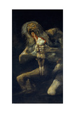 Saturn Devouring His Son Giclee Print by Francisco de Goya
