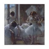 Dancers (Danseuse), 1884-1885 Giclée-tryk af Edgar Degas