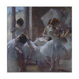 Dancers (Danseuse), 1884-1885 Giclee Print by Edgar Degas