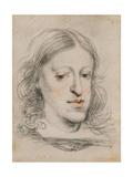 Portrait of Charles II of Spain Giclee Print by Juan Carreño de miranda